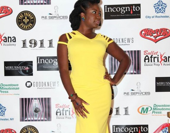 banke-the-author-roc-awards-red-carpet-entrance