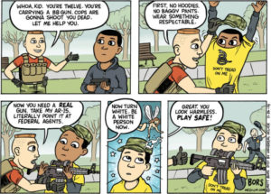 black-child-carrying-gun-comic